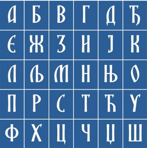 How to write cyrillic letters
